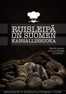 Ruisleipä suomen kansallisruoka